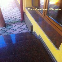 Glafuri Granit Multicolor si Trepte granit Rosu Imperial