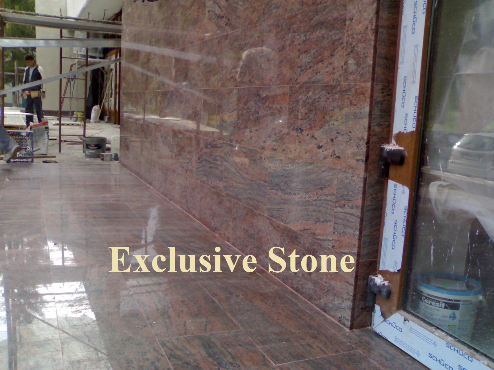 Placare exterior Granit Multicolor