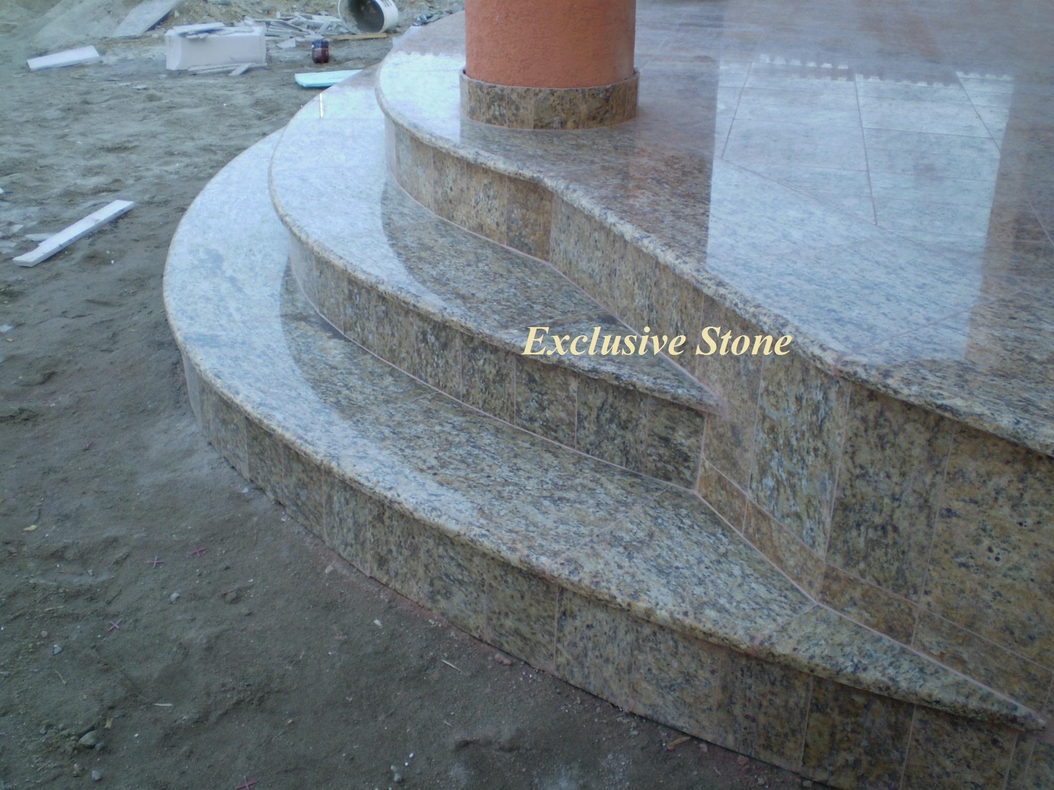 Placare trepte granit Cecilia