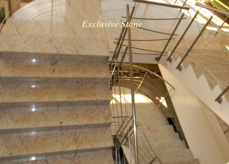 Placare trepte granit Shivakashi