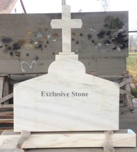 Cruce executata din masiv de Marmura Ruschita Alba