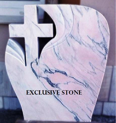 Cruce executata din masiv de Marmura Ruschita Roz Venat