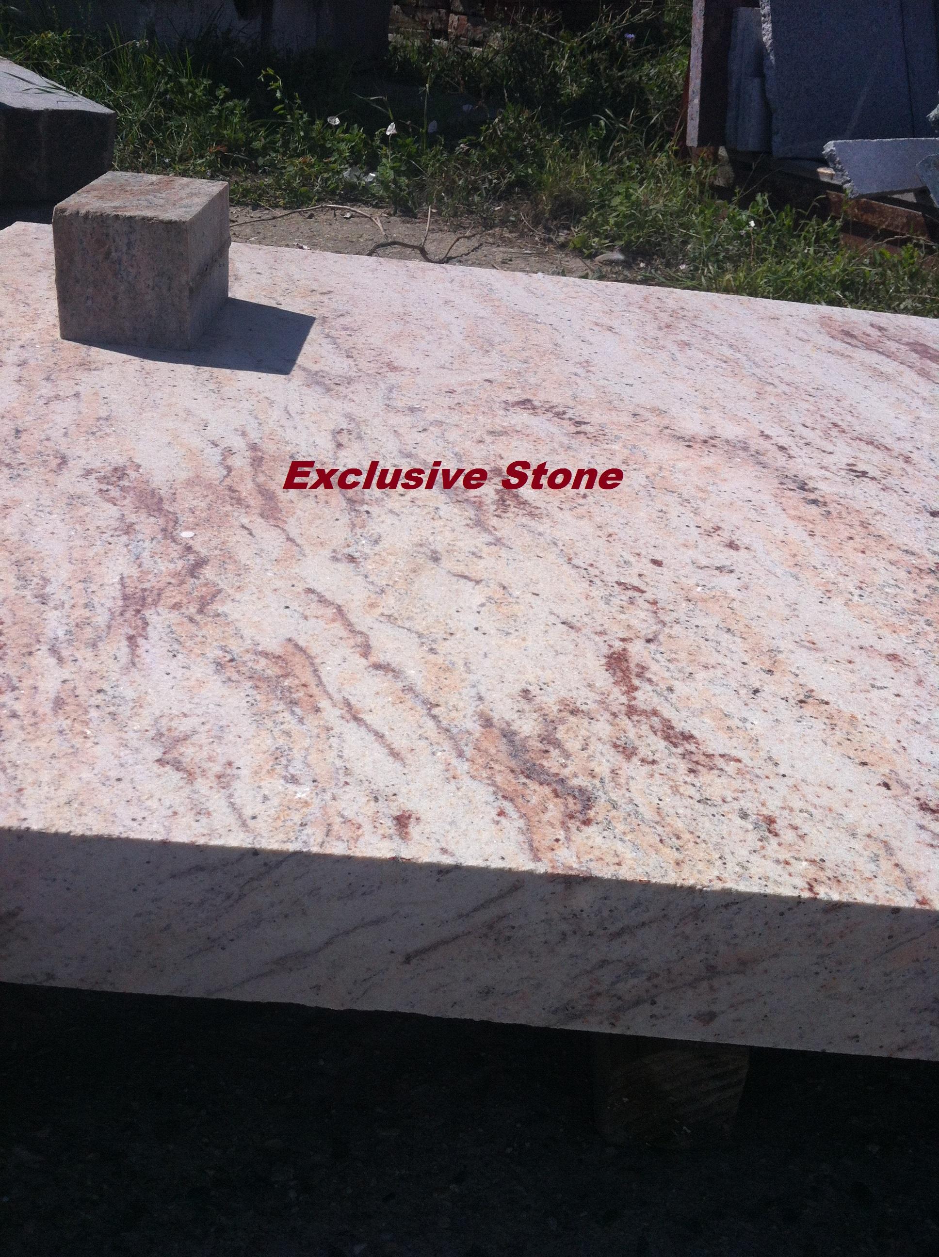 Piese /masive Granit Shivakashicu grosimi de 2, 3, 4, 8 , 10 cm