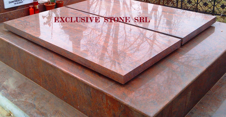 Capace din granit Rosu Multicolor cu grosimi de 2, 3, 4, 5, 6, 8 si 10 cm