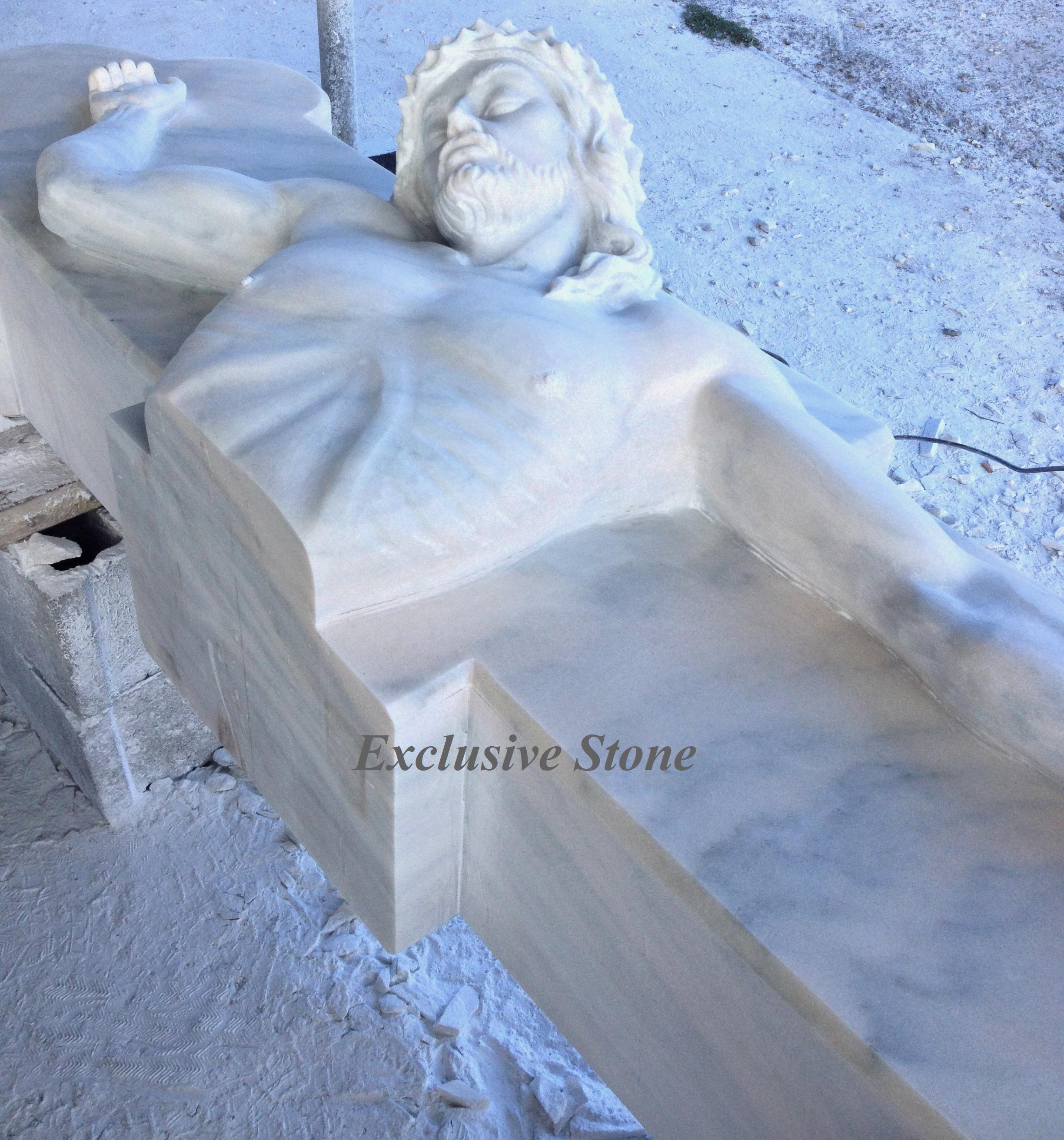 Sculptura speciala din Marmura Ruschita Roz