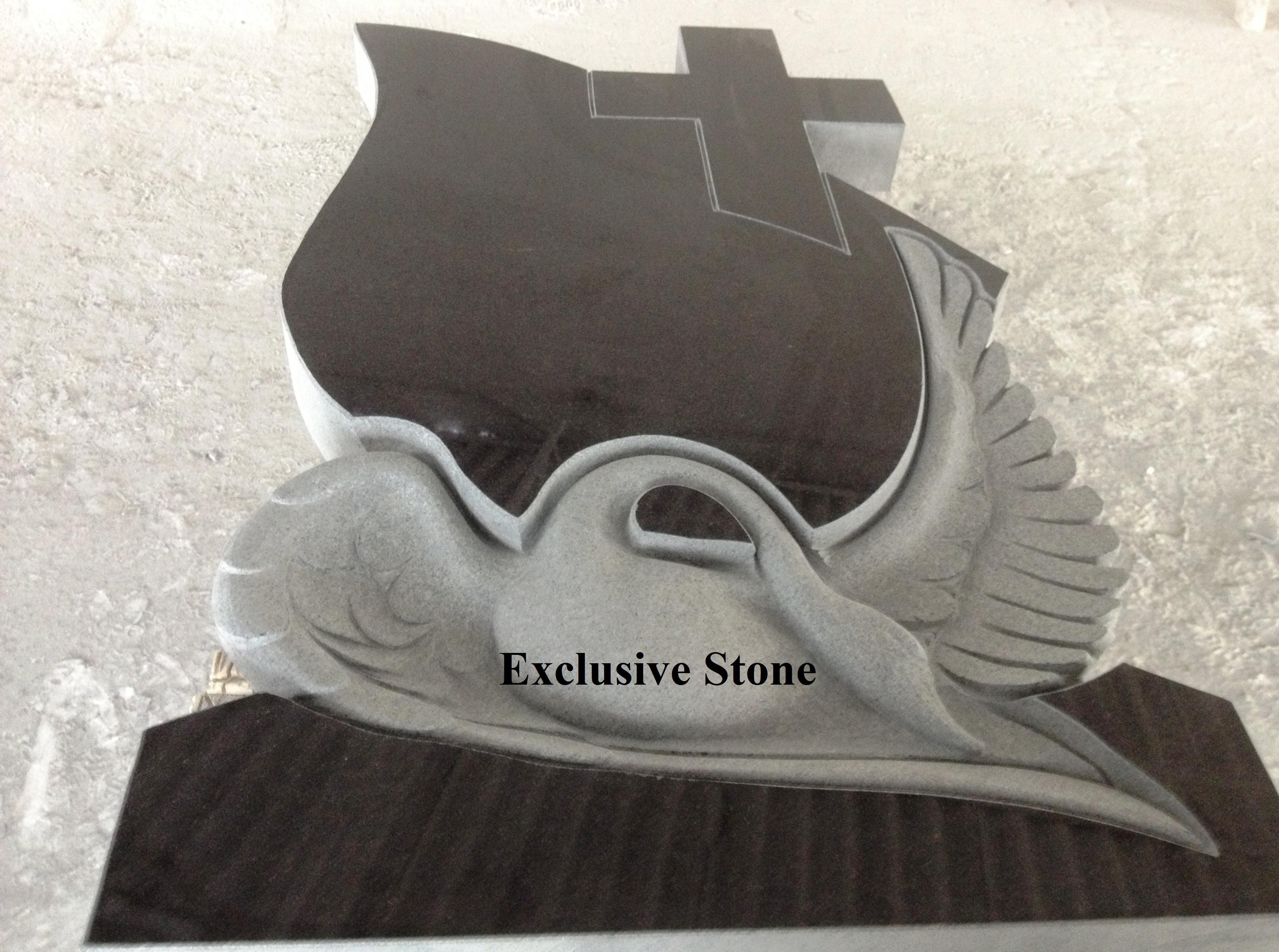 Sculptura speciala din Granit Negru Absolut