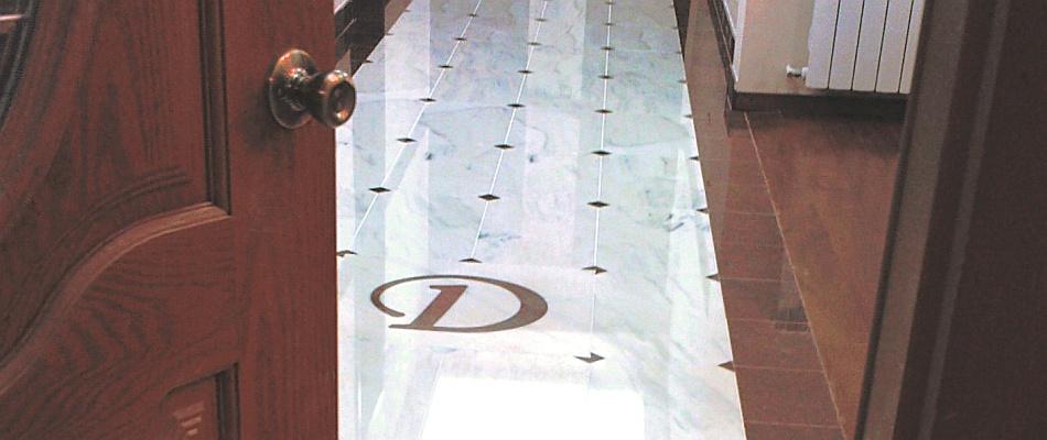 Podea Marmură cu Model Marmură Albă Marmură Roşie